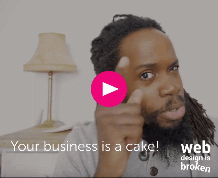 business is a cake thumbnail